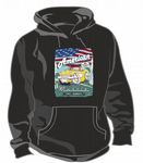KOOLART AMERICAN MUSCLE CAR Design For Yellow 50's Chevy Corvette Unisex Hoodie